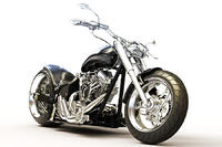 bigstock-Custom-black-motorcycle-on-a-w-53291449