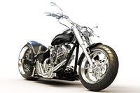 bigstock-Custom-black-motorcycle-on-a-w-53291449