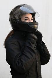 Always wear a DOT-compliant helmet when riding.